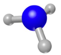 Source de COV (Composé Organique Volatil), l'amoniaque - NH3