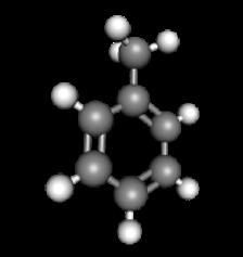 Source de COV (Composé Organique Volatil), le Toluène - C7H8