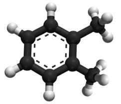 Source de COV (Composé Organique Volatil), le Xylène - C8H10